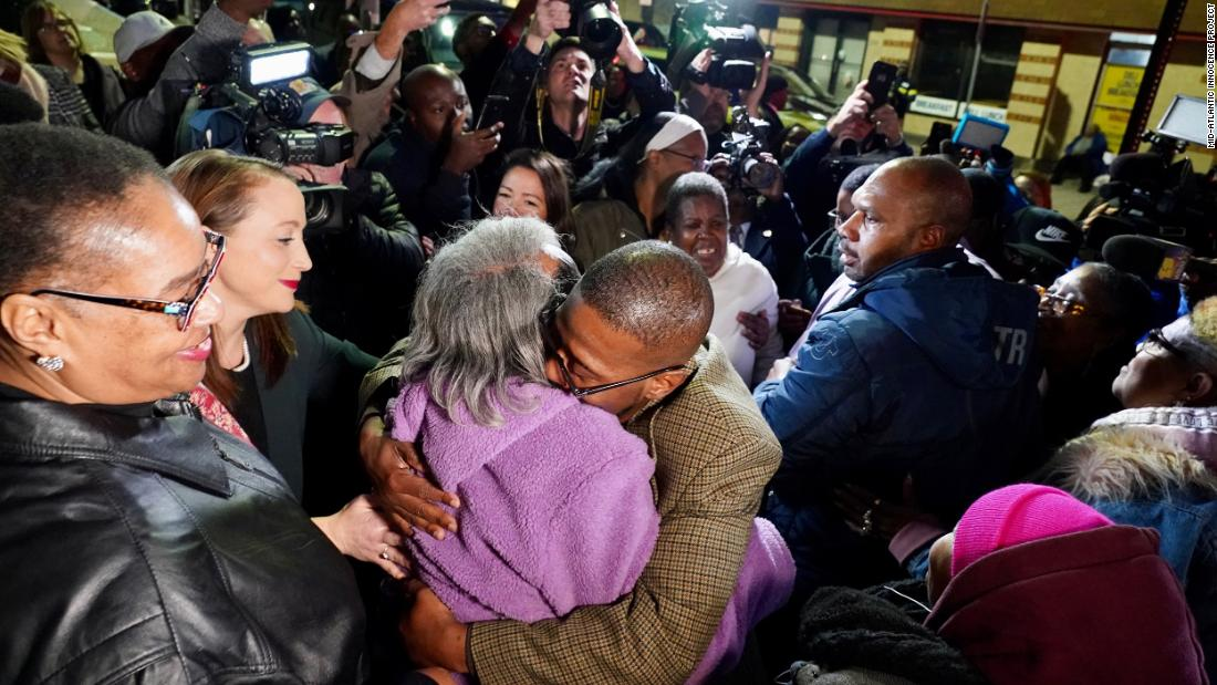 Baltimore men freed after 1983 wrongful conviction