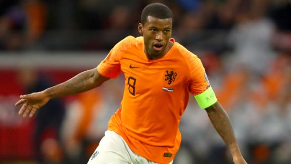 Georginio Wijnaldum says players should walk off the pitch if they experience racist abuse.