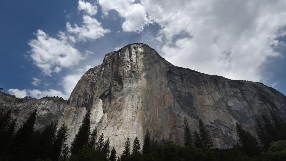 In this file photo taken on June 03, 2015 the El Capitan monolith is seen in the Yosemite National Park in California.