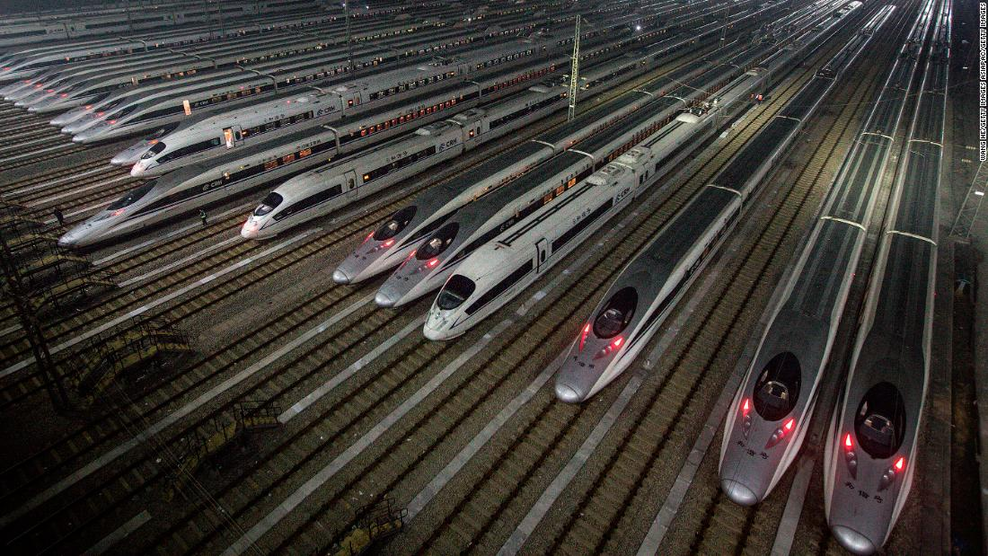 High speed trains are close to doubling their speed