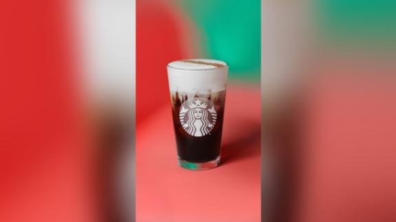 The new Irish Cream Cold Brew drink from Starbucks.