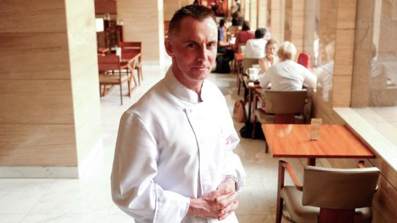 Chef Gary Rhodes, pictured in Delhi on May 25, 2012.