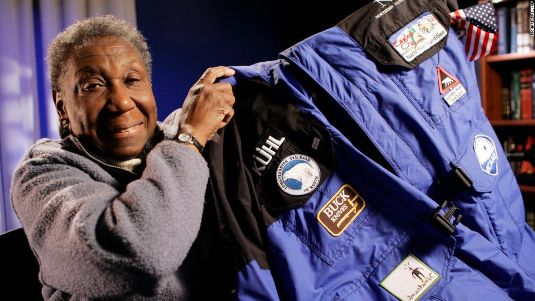 Barbara Hillary, the first black woman to make it to both the North and South poles, dies