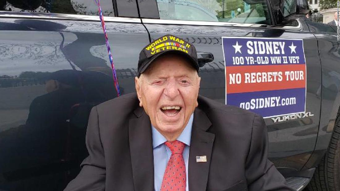 Meet the 100-year-old WWII veteran touring the US