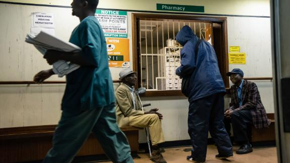 The strike could worsen the delivery of health services in Zimbabwe's public hospitals.