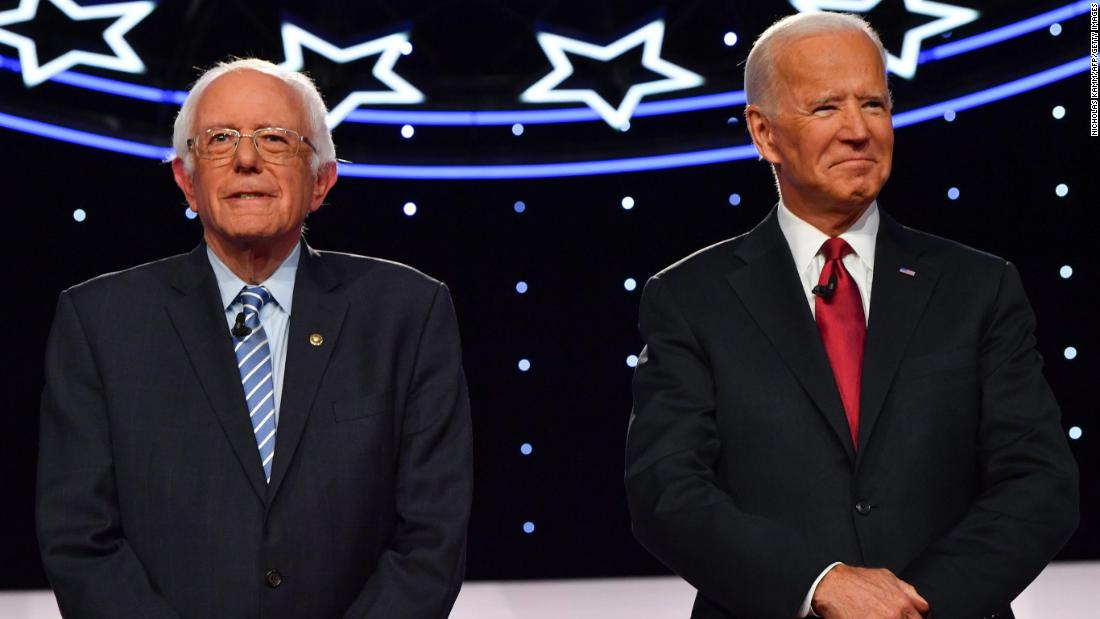 Biden and Sanders atop 2020 Democratic primary field, Monmouth poll finds