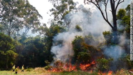 A volunteer firefighter has been charged after allegedly starting fires in Australia