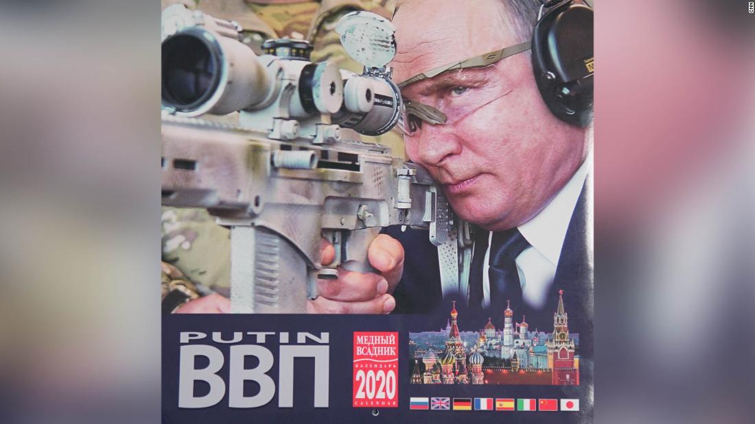 ウラジミール-プーチンをリメイクのイメージ新規カレンダー