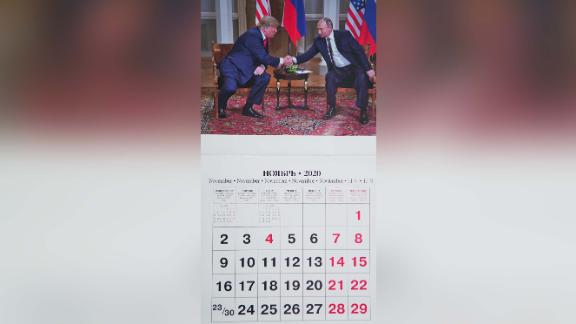 The image of Putin as international statesman is the one in favor this year.