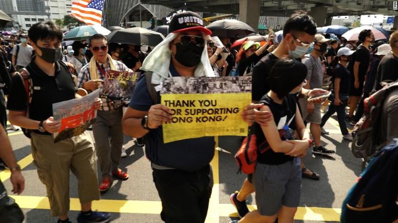 China bans US military visits to Hong Kong in response to Washington's support for protesters