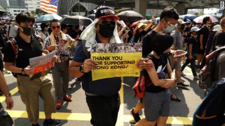 Trump signs Hong Kong human rights act as China blasts 'plainly bullying behavior'