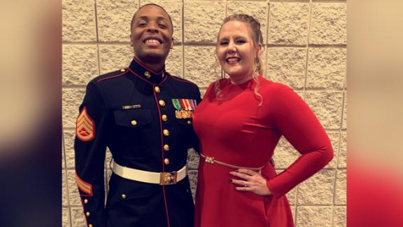 Ciara Hester with her husband Isiah Hester