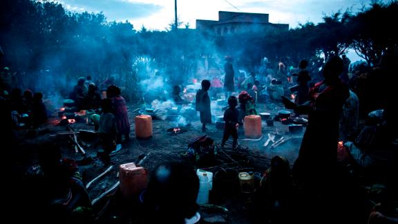 The UN says millions of people have been displaced inside the  Democratic Republic of Congo.