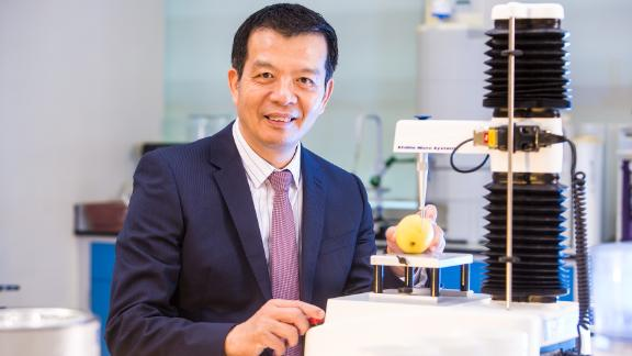 William Chen, professor of food science and technology at Singapore