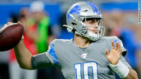 Thanksgiving Nfl Games 2020.Detroit Lions Qb David Blough An Undrafted Rookie Threw A