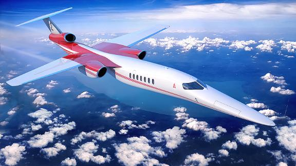 Aerion supersonic concept craft