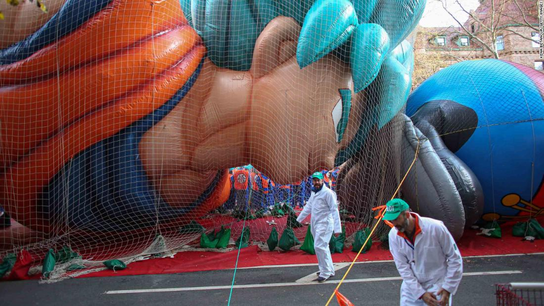 Macy's Thanksgiving Day Parade will go on, but only in TV land