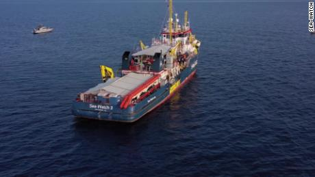 German Sea-Watch Captain Carola Rackete defied Italian authorities by docking with 40 rescued migrants on board.
