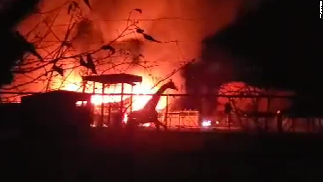 10 Tiere wurden getötet bei einem Feuer an der African Safari Wildlife Park in Ohio