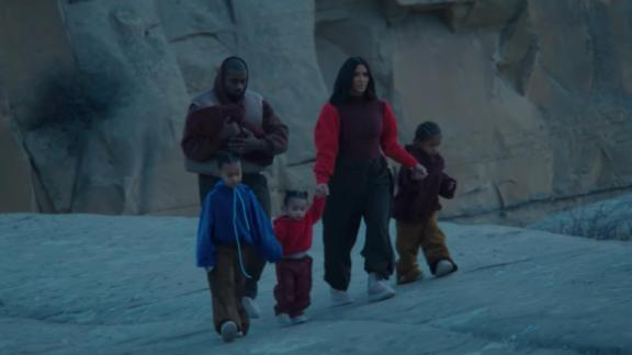 """A scene from Kanye West's """"Closed on Sunday"""" music video."""