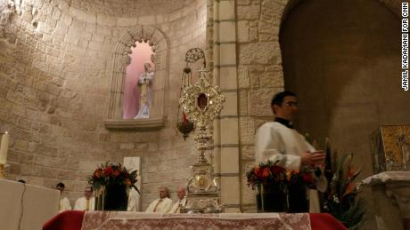 Relic believed to be from Jesus' manger returned to Holy Land