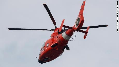 A kite surfer went missing near Ocean City, New Jersey, on Thanksgiving Day. US Coast Guard Sector Delaware Bay watchstanders boarded a US Coast Guard MH-65D Dolphin helicopter, seen here in December 2018, to find him from the air.