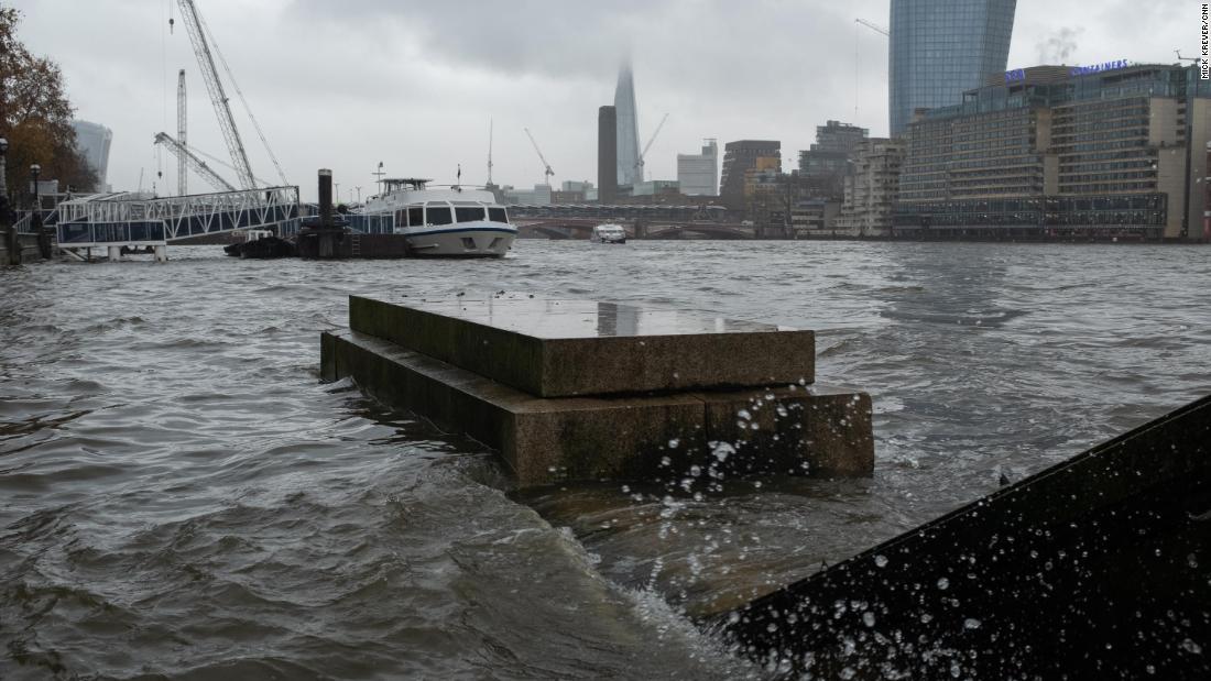Το λονδίνο δεν μπορούν να ξεφύγουν από την κλιματική αλλαγή