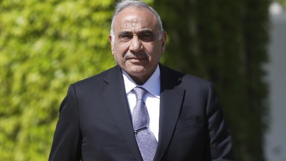 BERLIN, GERMANY - APRIL 30:  Iraqi Prime Minister Adil Abdul-Mahdi reviews a guard of honor upon Abdul-Mahdi