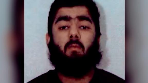 Police say Usman Khan, 28, is the suspect in Friday