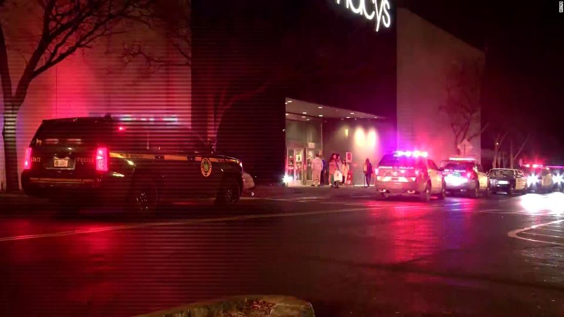 Suspect arrested in shooting at Syracuse mall