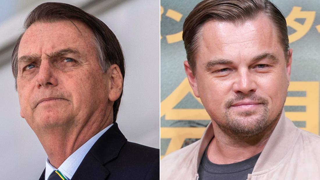 Leonardo DiCaprio responds after Brazil's President blames actor for Amazon forest fires