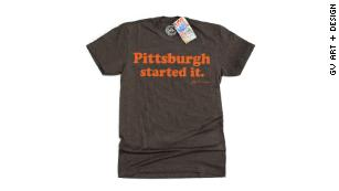 Cleveland Browns head coach was seen wearing this T-shirt at a movie theater.