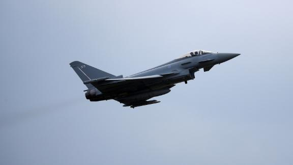 Police said the noise was caused by RAF Typhoon jets (file photo).