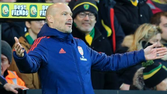 Norwich City held Arsenal to a draw in the English Premier League on Sunday.