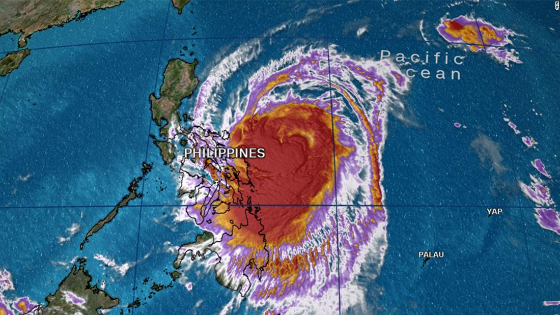 Kammuri expected to bring heavy rains to Philippines - CNN