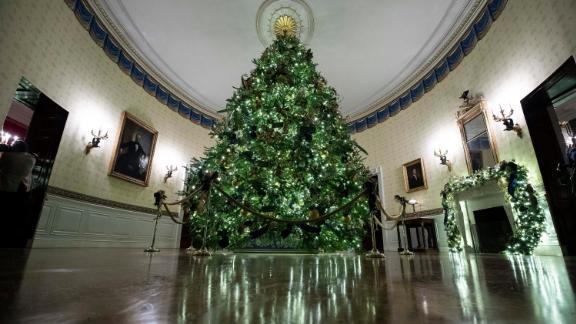 The 2019 White House Christmas tree