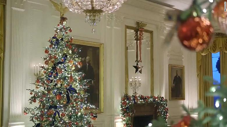 Melania Trump Highlights Spirit Of America For Holiday Decoration Theme Cnnpolitics