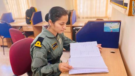 "Lieutenant Shivangi said she has received ""massive support"" from her navy squadron."