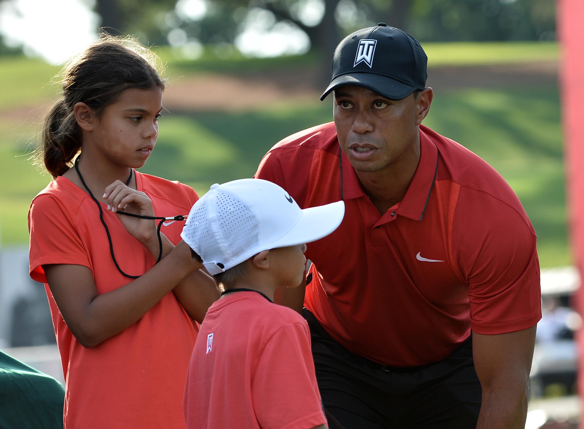 Tiger Woods Kids - Tiger Woods My Kids Hardly Mention ...