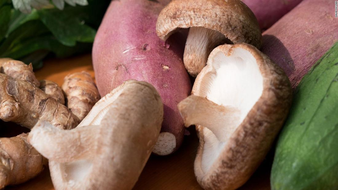 Mushrooms, particularly shiitake, contain more than 100 compounds with immune-protecting properties.<br />