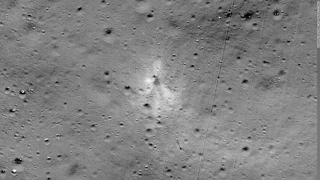 インドの砕月着陸機が月