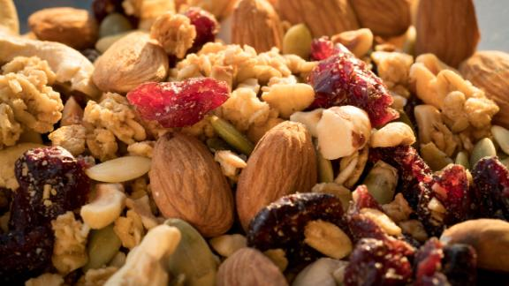Nuts, as well as nut butters, are prominent in the diet of the Seventh-day Adventists, a religious group with a longer than average lifespan when compared to other Americans. One study found that those who ate a handful of nuts at least five times a week lived two to three years longer than those who didn't eat any nuts.