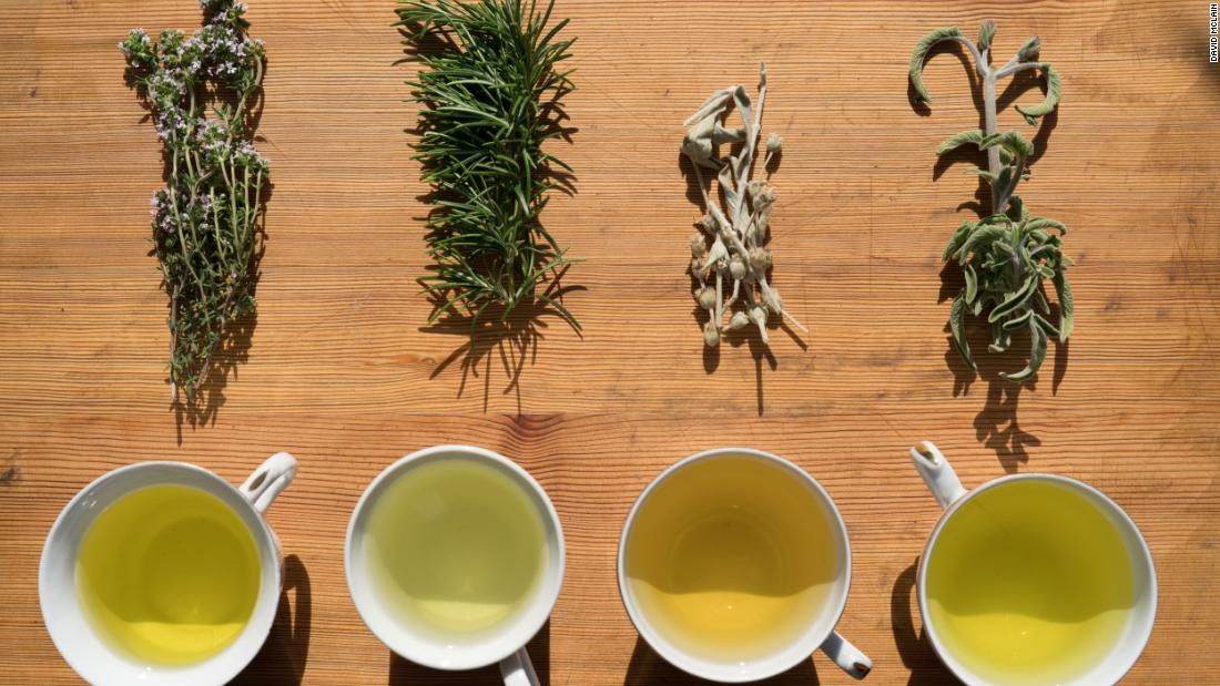 Ikarians in Greece drink tea brewed from local rosemary, wild sage and dandelion — all of which are herbs known to have anti-inflammatory properties.