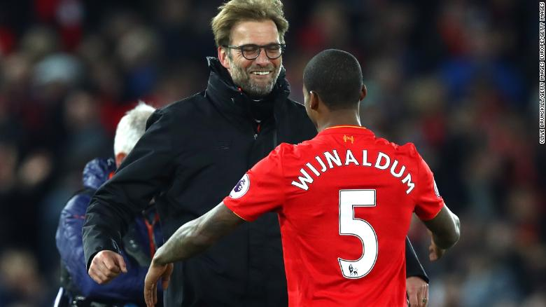 Jurgen Klopp signed Georginio Wijnaldum from Newcastle in 2016.