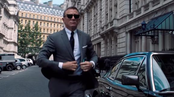A teaser for the new Bond film