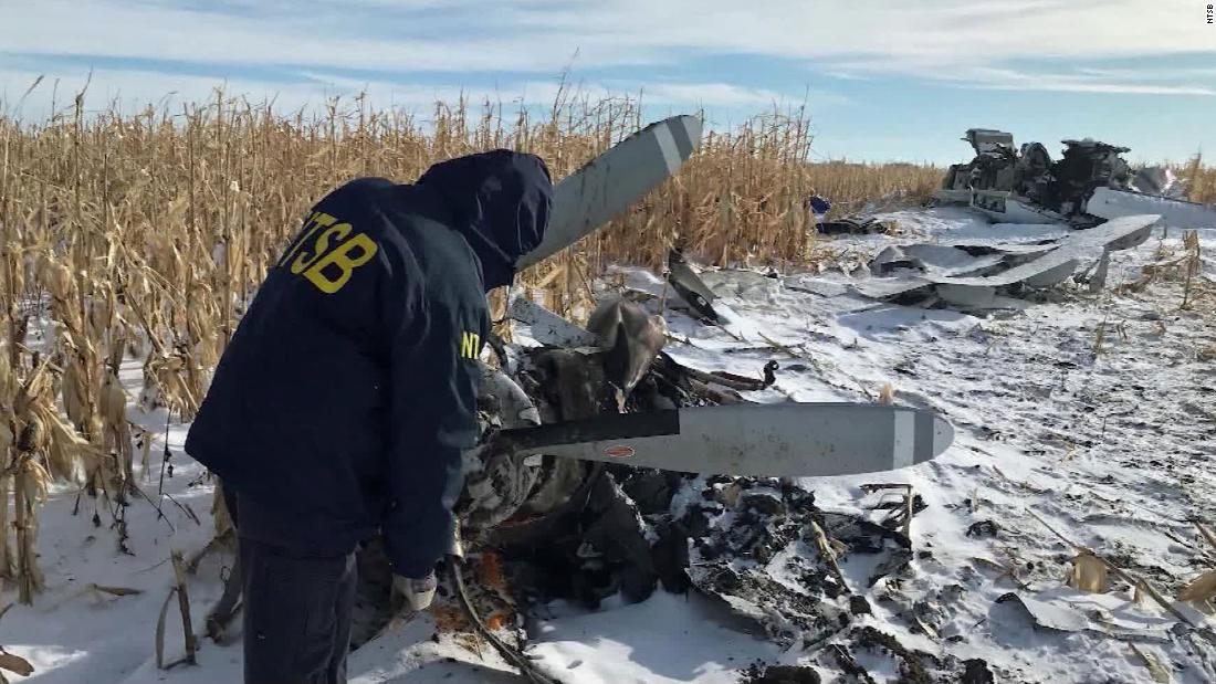 Pilot in the South Dakota plane crash was given the OK to fly in limited visibility, NTSB says