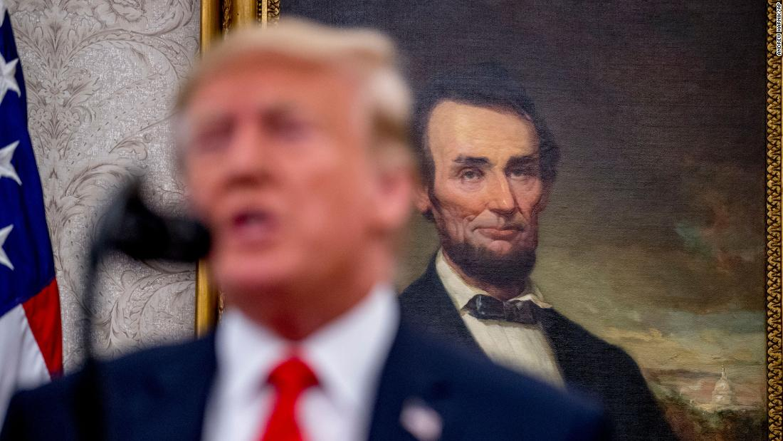 意見書:ドナルド-トランプはアブラハムリンカーンものpoll
