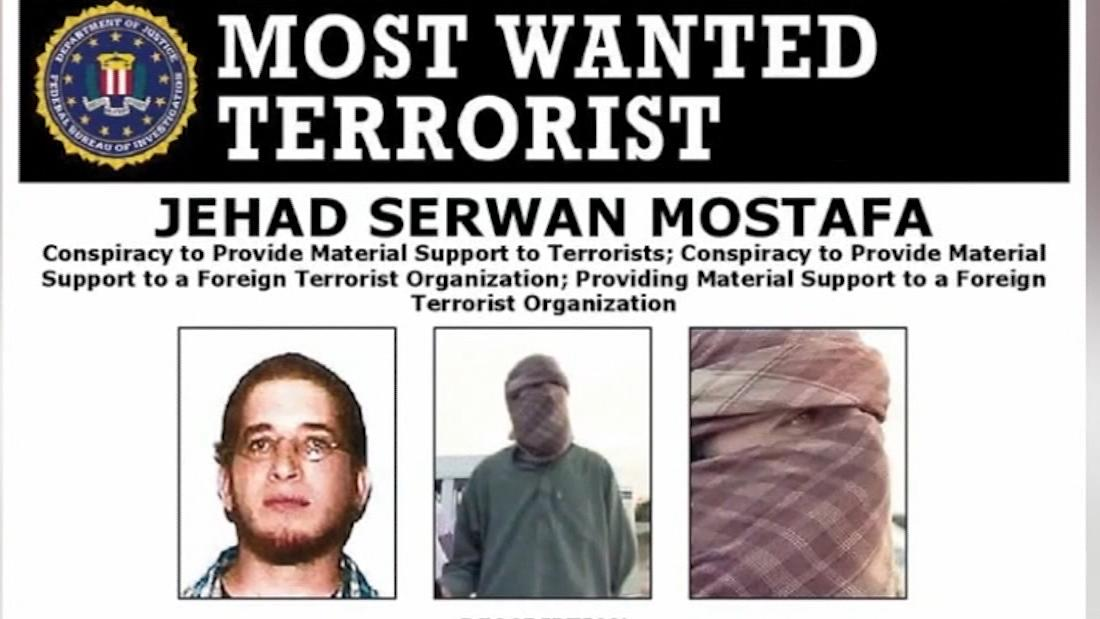 State Department offers $5 million to find US citizen on Most Wanted Terrorist List
