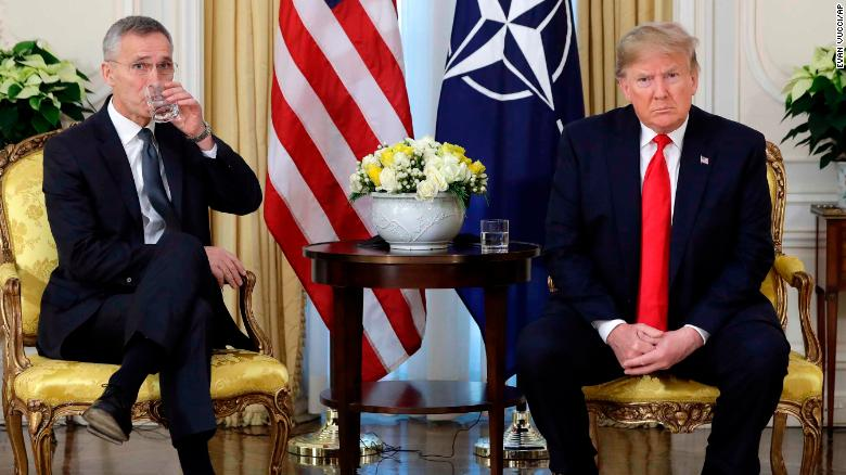 Trump slams Macron for 'insulting' NATO while complaining about the alliance