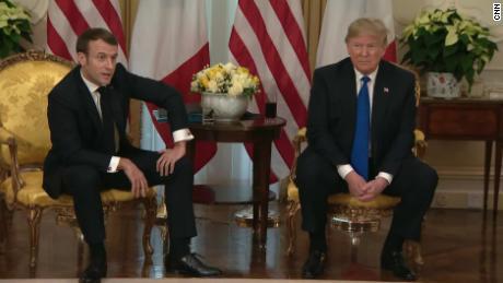 Trump's very unhappy trip